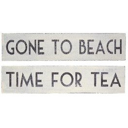 White Washed Signs, Large