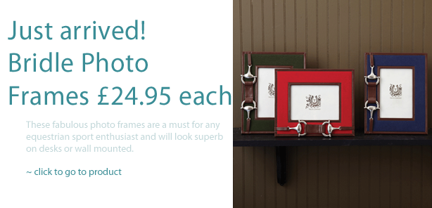 Bridle Photo Frames