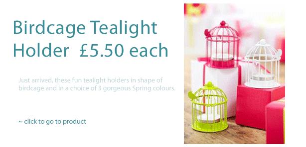 BirdCage Tealight Holder